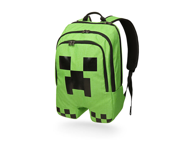 Minecraft Creeper Backpack 01 ゲーム その他・趣味 ゲーム関連グッズ ACCESSORIES