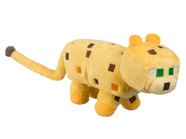 "Minecraft 14 Ocelot Plush W Hang Tag"" 01 ゲーム その他・趣味 ゲーム関連グッズ ACCESSORIES"